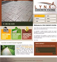 click here to go to Lynx Concrete Paving