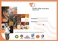 click here to see screenshot of the Parafin Association of South Africa Intranet