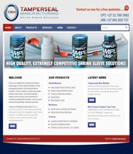 WORDPRESS WEBSITE - CLICK HERE TO GO TO TAMPERSEAL